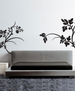 Wall Decal Flowers Composition