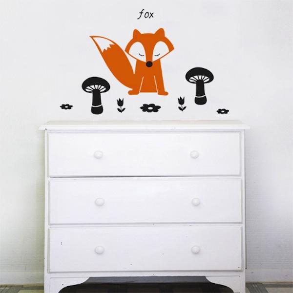 Wall Decal Fox