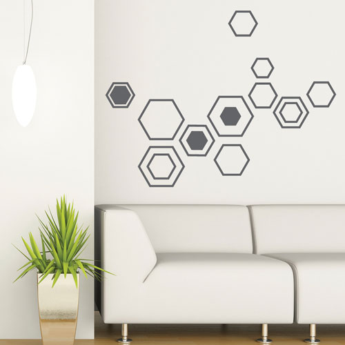 Good Wall Decal Geometry Shapes