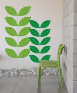Green Nature Wall Decal