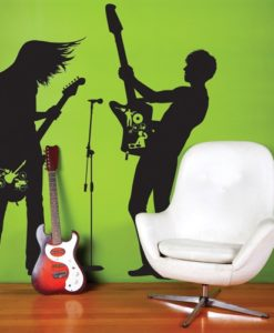 Wall Decal Guitar Hero