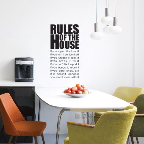 Very Best House Rules Wall Decal 500 x 500 · 41 kB · jpeg