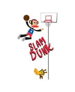 Wall Decal Julius Slam Dunk - Paul Frank