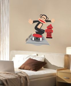 Door Decal Julius The Skater - Paul Frank