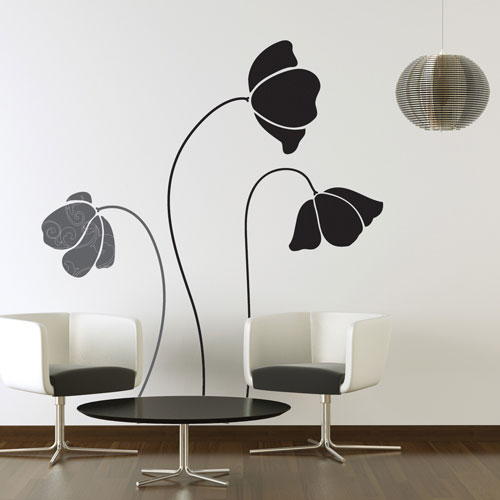 Best wall decal large flowers