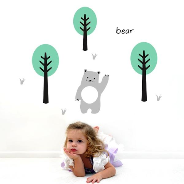 Wall Decal Little Bear