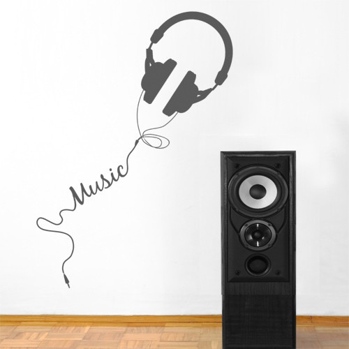 wall decal music vinyl wall stickers note music wall sticker 0855 music decal wall arts wall