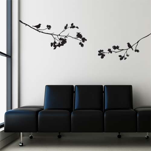 Merveilleux Wall Decal Nature Harmony