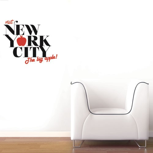 Marvelous Wall Decal New York   The Big Apple Part 8