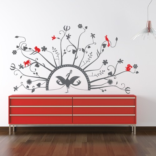 High Quality Wall Decal Peacock 1 Part 19
