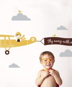 Wall Decal Pilot Boy