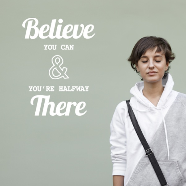 Wall Decal Believe