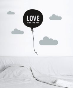 Wall Decal Love is in the Air