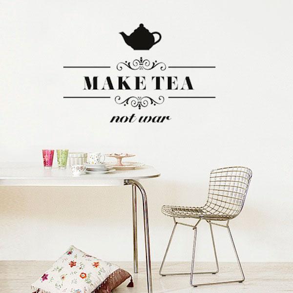 Charmant Wall Decal Make Tea