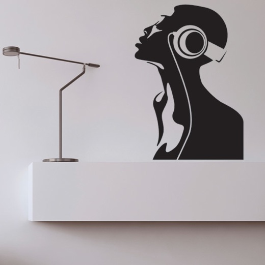 Wall Decal Radio Shake