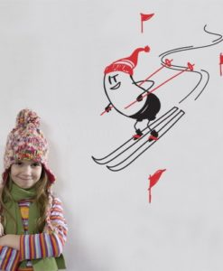 Ski Wally Wall Decal