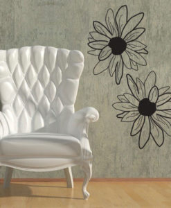 Wall Decal Sunflowers