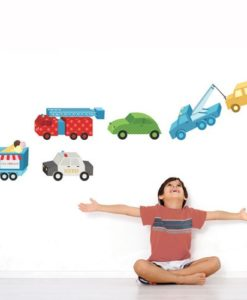 Wall Decal Toy Cars