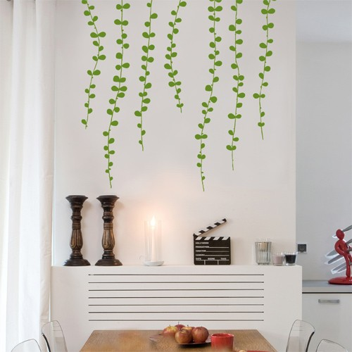 Vine Wall Sticker Nature Decals 4make CoolWallArt