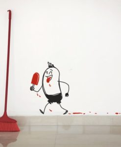 Wall Decal Wally Popsicle