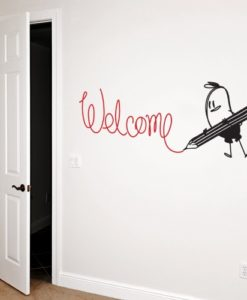 Welcome Wally Wall Decal