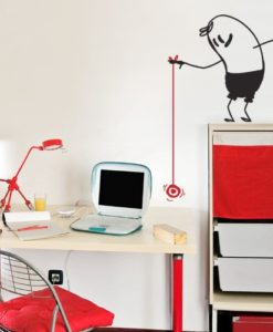 Yo Yo Wally Wall Decal