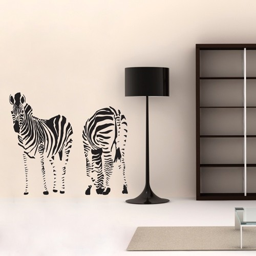 Awesome Kids Wall Decal Zebra