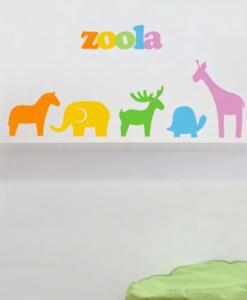 wall decal zoo
