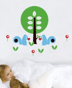 Wall Decal By The Tree
