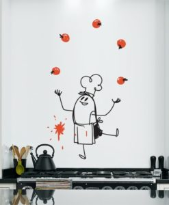 Wall Decal Chef Wally
