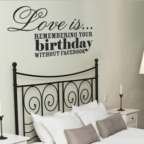 Love Is Wall Decal - Wall decals love