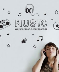 Wall Decal Music Icons