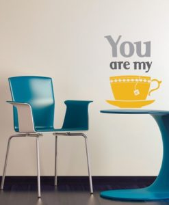 My Cup of Tea Wall Decal
