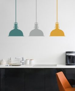 Wall Decal Pendant light
