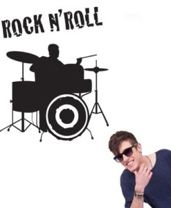 Wall Decal Drums