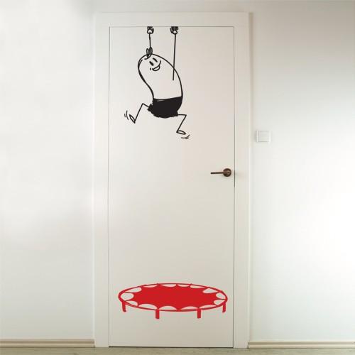 Door Decal Save Wally