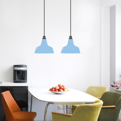 Wall Decal Vintage lampshade