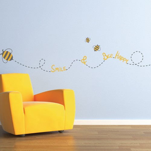 Bee My Little Baby E Wall Decals Stickers Graphics